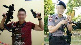 Tak Hanya Sekadar Polisi Terduga Penembak Pengawal Prabowo Pernah Jadi Ajudan Jenderal