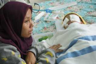 Derita Calista, Bayi 15 Bulan Disiksa oleh Ibu Kandung