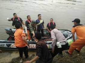 Sampan Terbalik, Satu Pemancing di Sungai Kampar Tewas