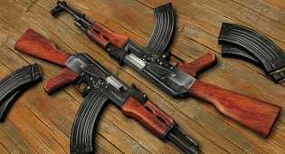 Polisi Gerebek Seorang warga Yang Memiliki Ak-47 di Palembang