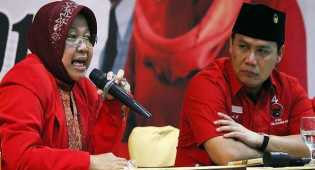 Risma: Saya masih ingin tetap di Surabaya