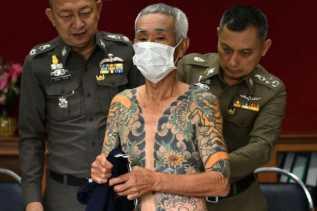 Karena Tatonya Viral, Bos Yakuza Jepang Tertangkap di Thailand