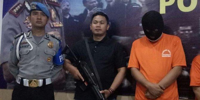 Andika The Titans Ditangkap Polisi