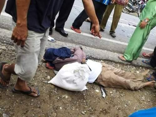 Pajero BM 1 HL Tabrak Penjual Martabak, Ramli Tewas di Tempat