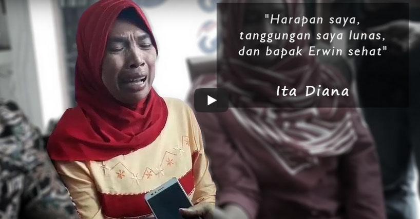 Berharap Donor Ginjal Bisa Bayar Utang Rp. 350 Juta, Ternyata Ini yang Didapatkan Ita