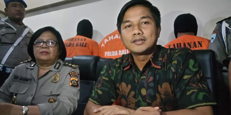 Anggota Polisi Ditusuk Pakai Pisau Lipat Oleh Tiga Pria