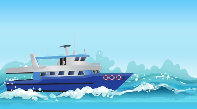 Kapal Penyelundup Serang Petugas Bea dan Cukai di Bengkalis