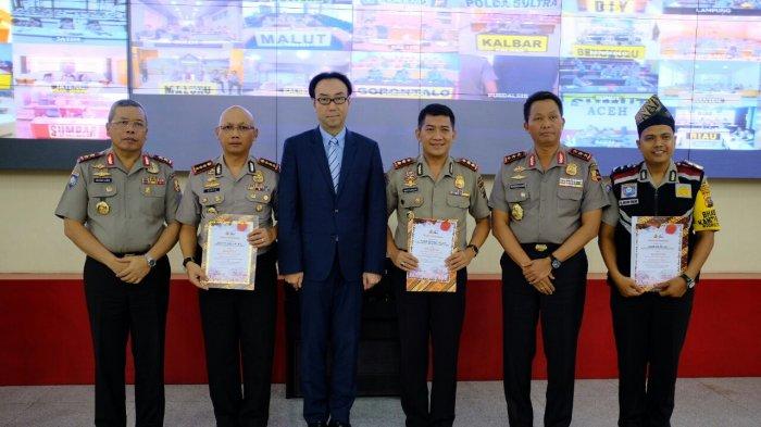Selamat, Polda Riau Juara Satu Lomba Polmas Kapolri Cup 2017-2018