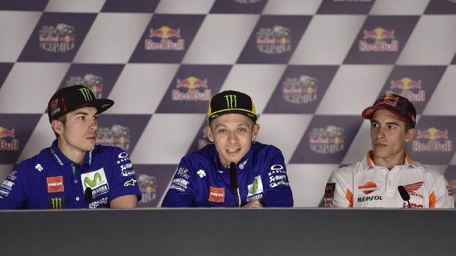 Jelang MotoGP Amerika, Rossi dan Marquez Dinilai Tak Dewasa