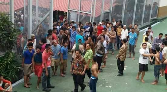 Menkum HAM: Lapas Sialang Bungkuk Kapasitas 300 di Isi 1.800