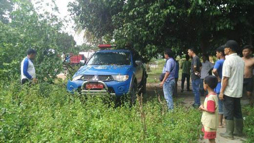 Kecelakaan Tunggal, Mobil Bantuan Kemensos Nabrak Pohon di Kepenuhan