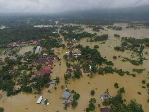 Sebanyak 2.467 Rumah Terdampak Banjir di Riau, Berikut Datanya