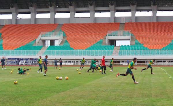 Liga Final AFF 2016, Stadion Pakansari Resmi Jadi Kandang Indonesia