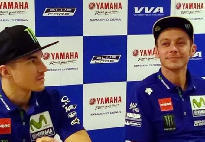 Rossi dan Vinales Berikan Wejangan untuk Pembalap Indonesia