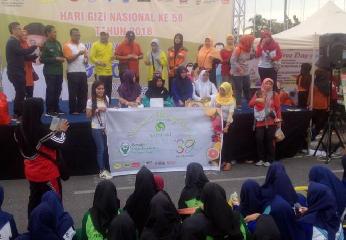 Diskes Riau Bagikan 1.000 Tablet Tambah Darah Gratis untuk Remaja Putri