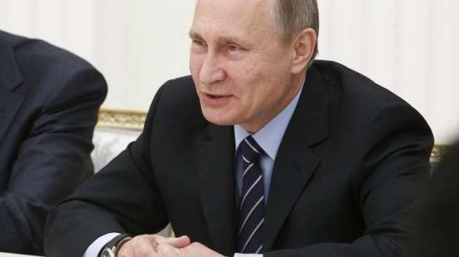 Vladimir Putin Unggul Jauh dalam Hitung Cepat Pilpres Rusia