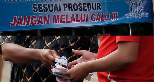Polresta Pekanbaru Buru Pelaku Calon SIM di RSDC