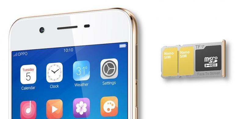 Oppo A39 Dual SIM Card
