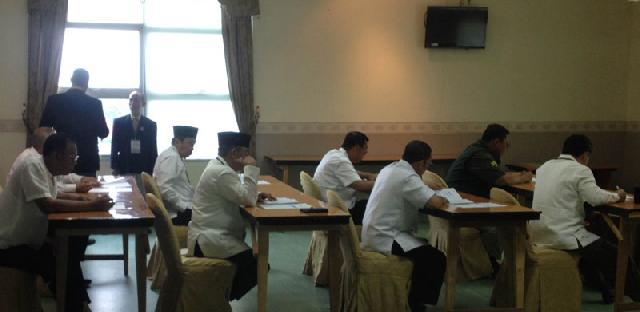 Pagi Ini Empat Paslon Jalani Tes Psikologi dan Psikiatri di RSUD Arifin Achmad