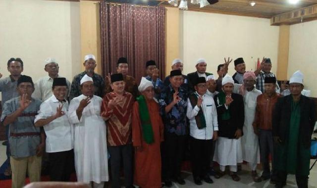 Para Tokoh Agama di Rohul Nyatakan Dukung Firdaus - Rusli