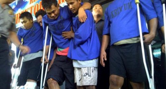 2 Pelaku mutilasi tewas Ditembak, 4 lainnya dibekuk polres Paser