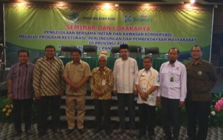 Lima Kawasan Lindung Riau Jadi Pengembangan Konservasi Bentangan Alam