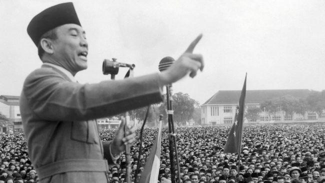Hari Ini 73 Tahun Silam, Sukarno Cetuskan Pancasila